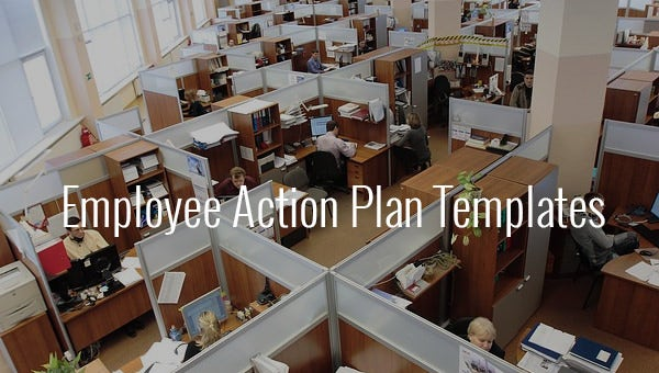 employee action plan templates