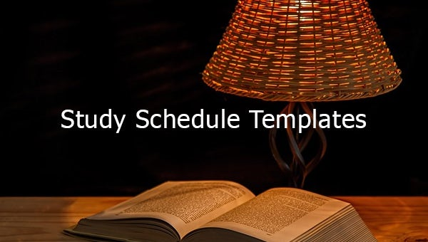 studyscheduletemplates