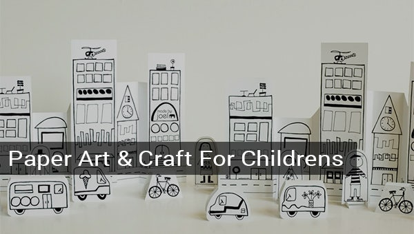 15paperartcraftforchildren