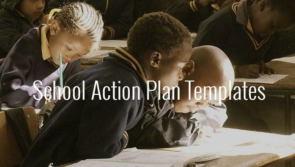 schoolactionplantemplates