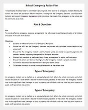 School-Emergency-Action-Plan-Sample