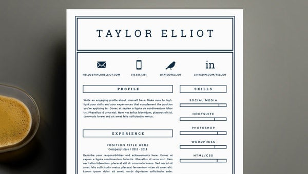 Combination Resume Template - 9+ Free Word, Excel, PDF ...