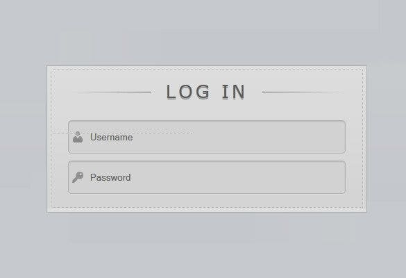 beautiful login form with new html5 attributes1