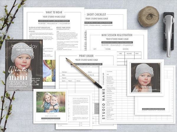 photography marketing forms template