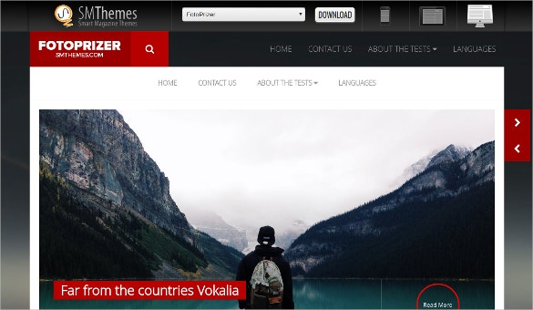 Elegant Travel WordPress Theme