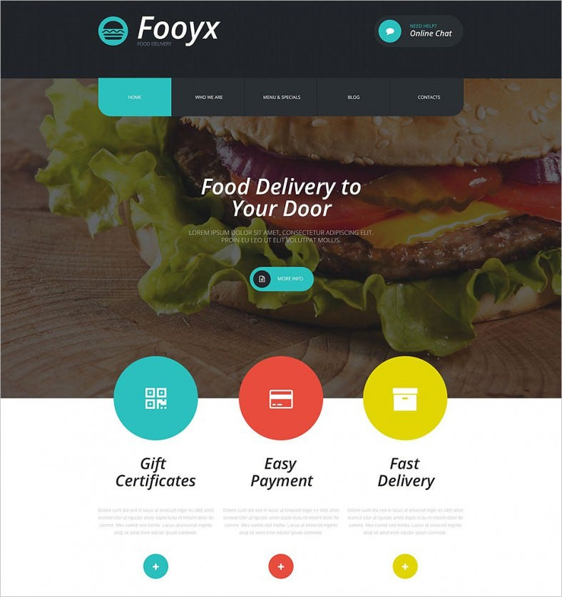 2 Step Installation WordPress Theme for Food Delivery