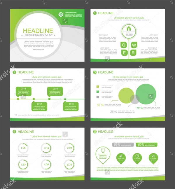 Sample Web Marketing Presentation Template