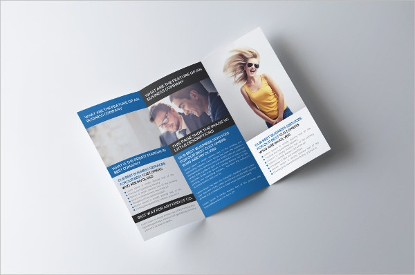 example modern marketing brochure template - Marketing Brochure Template