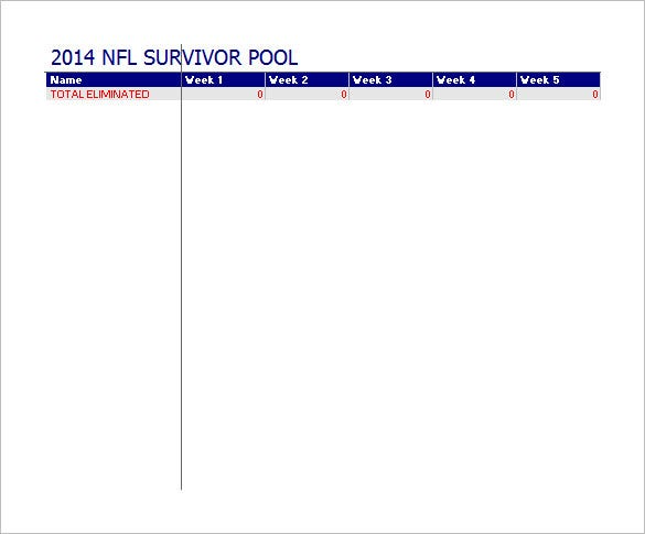 picture relating to Superbowl Boards Printable titled 19+ Soccer Pool Templates - Term, Excel, PDF Absolutely free