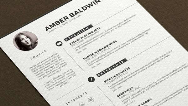 Designer Resume Template 8 Free Word Excel Pdf Format Download Free Premium Templates