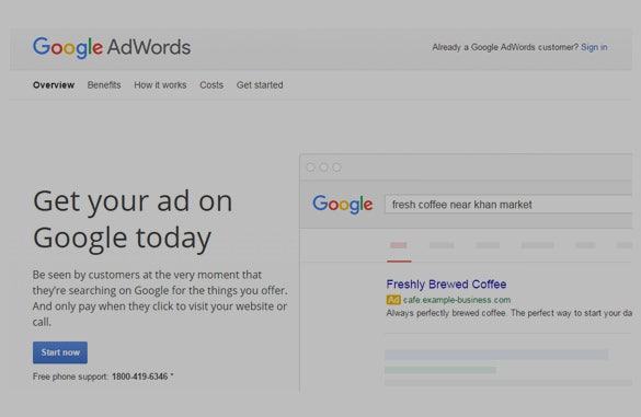 AdWords-Service-for-Google-Sample