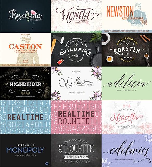 24 incredible font families