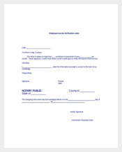 10 Employment Verification Letter Templates Free Sample Example
