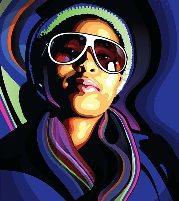 Adobe-Illustrator-&-Photoshop-Tutorial-Stylish-Vector-Portraits