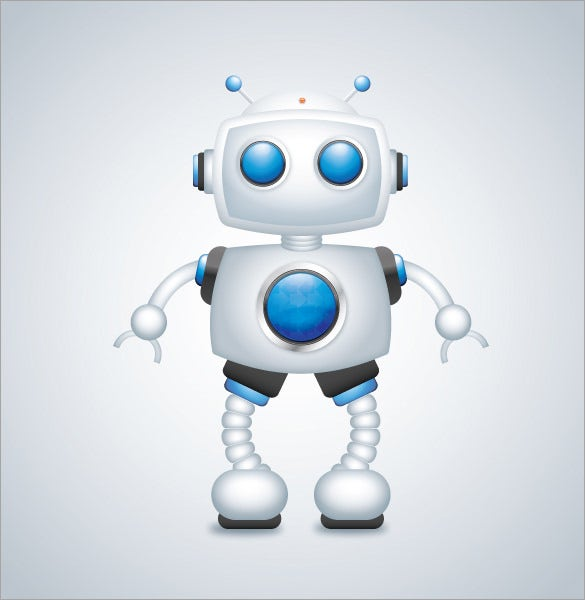 create a robot character in adobe illustrator