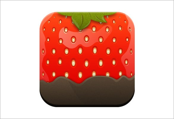 stylised strawberry icon adobe illustrator tutorial