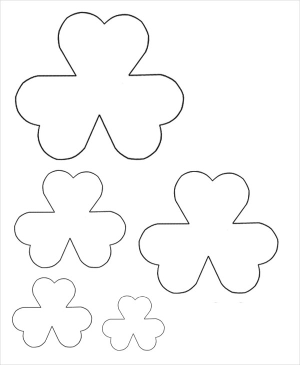 Flower Petal Template   Free Word Pdf Documents Download  Free