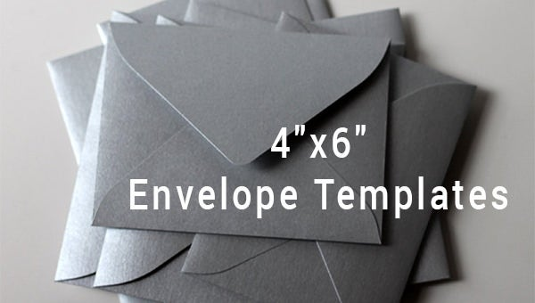 4 u00d76 envelope templates  u2013 9  free printable word  pdf  psd