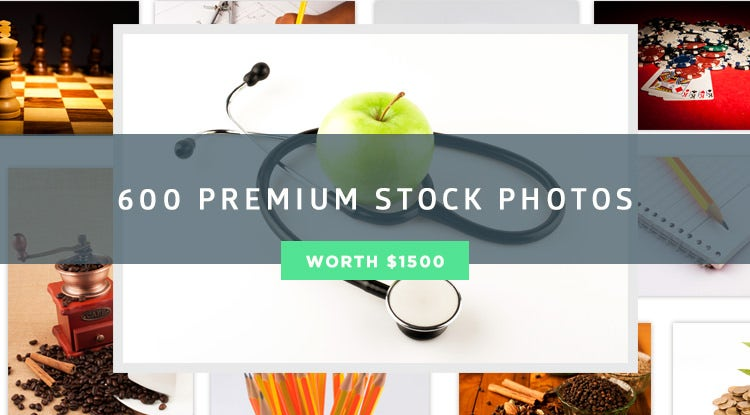 600 Premium Stock Photos Pack worth $1500