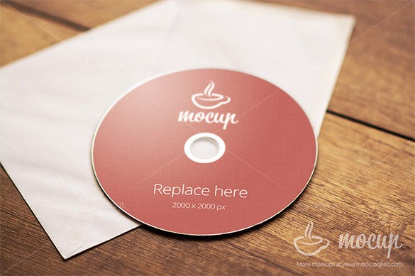 a grade cd dvd cover psd template