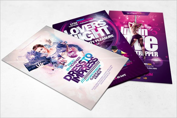 14 Creative Flyer Mock Up Templates Amp Designs Free