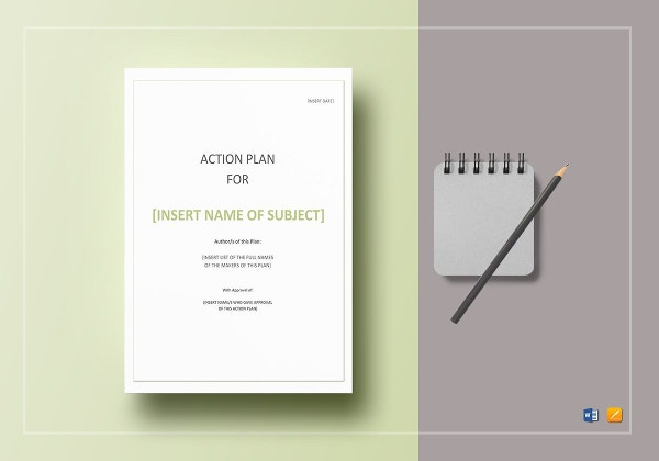 action plan template6