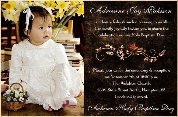 35 naming ceremony invitations free psd pdf format download adrienne naming ceremony invitation template stopboris Image collections