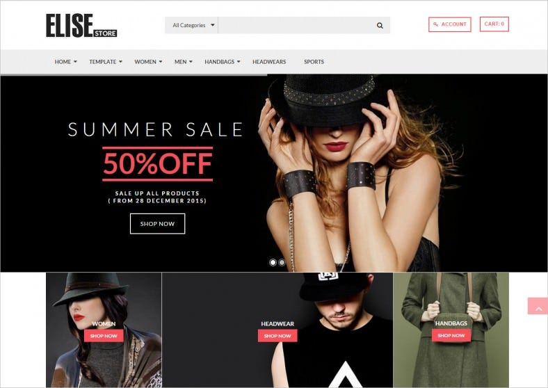 Advanced Fashion Joomla Template