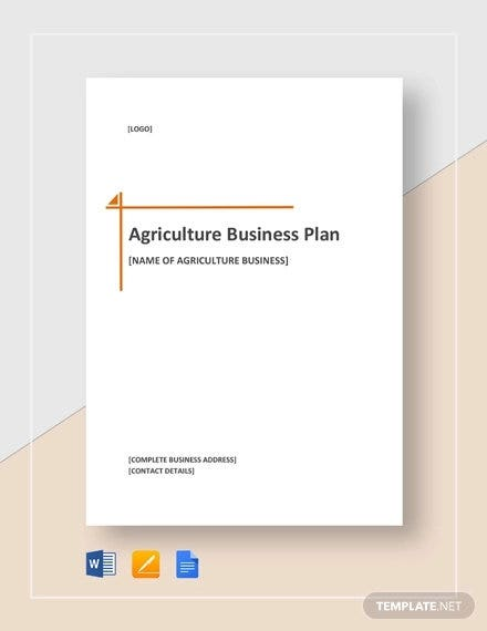 19 Farm Business Plan Templates Word Pdf Excel Google