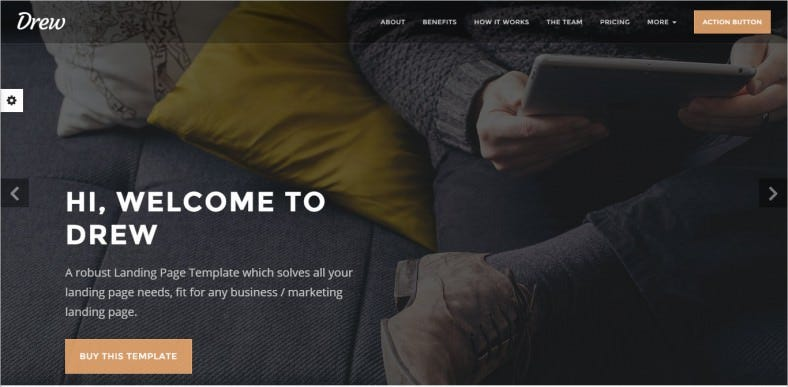 All in One Marketing Landing Page