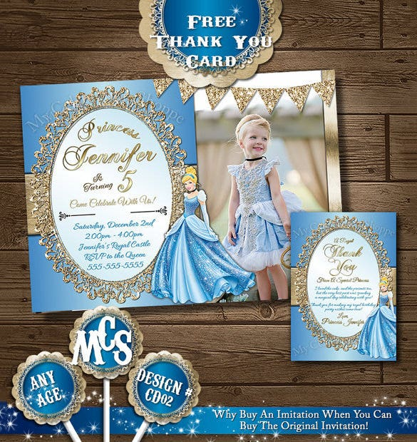 13 amazing cinderella invitation templates designs free amazing cindrella psd invitation template stopboris Gallery