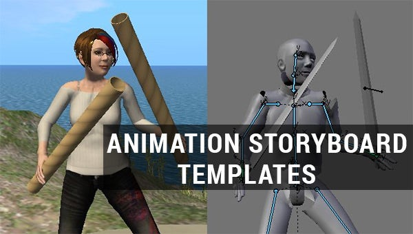 animation storyboard templates