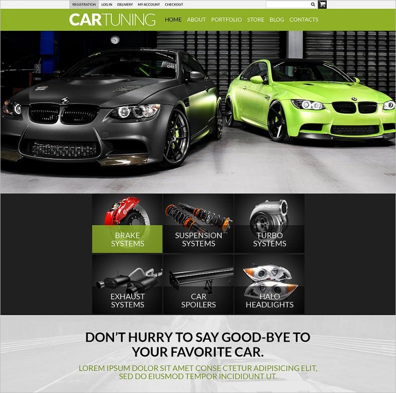 auto tuning workshop woocommerce theme 788x782