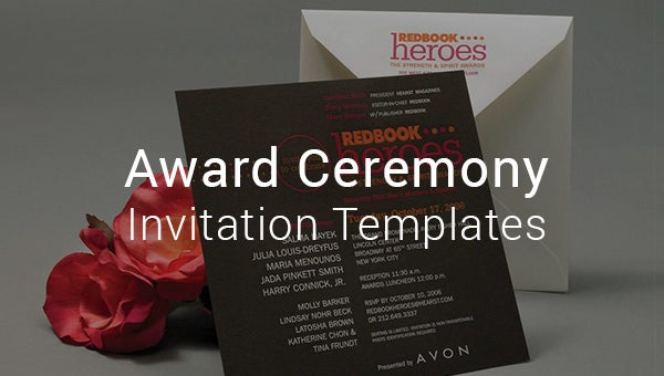 awardceremonnyinvitationtemplates