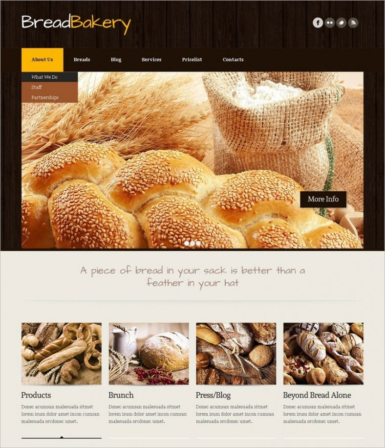 bakery joomla template 2 788x916