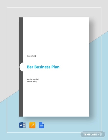 bar business plan template2