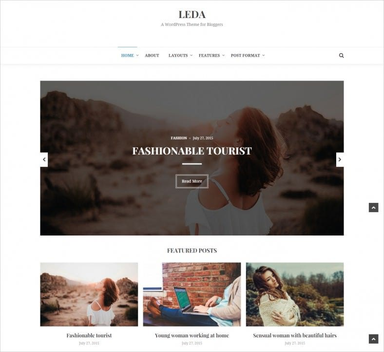Beautiful WordPress Blog Theme