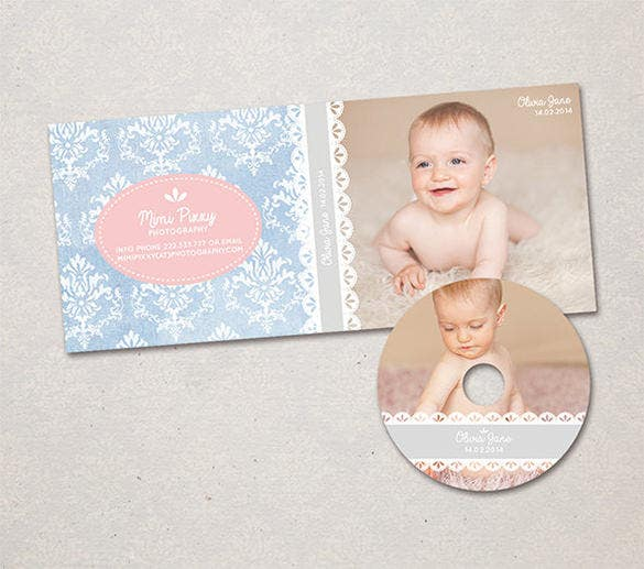 best baby photography marketing dvd cover template