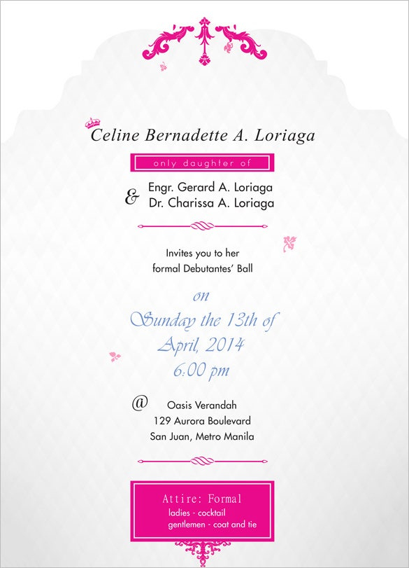 Debut invitation template 24 free word pdf psd format best debut invitation stopboris Choice Image