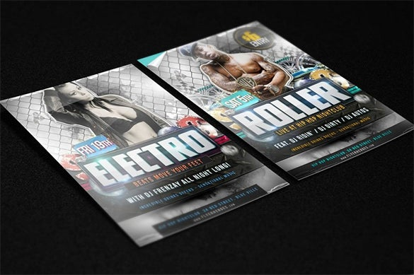 best flyer mockup template