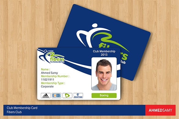 Best Photoshop PSD Membership Card
