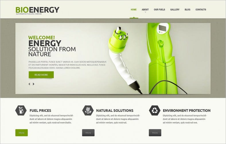 biofuel responsive wordpress theme 788x501