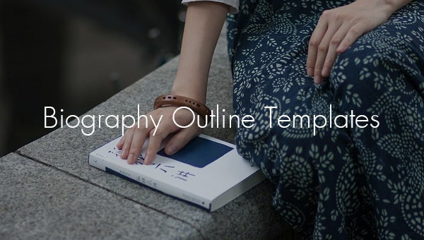 biography outline templates