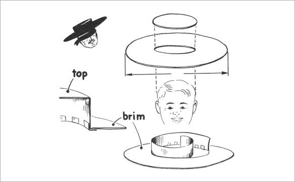 Birthday Paper Hat Template