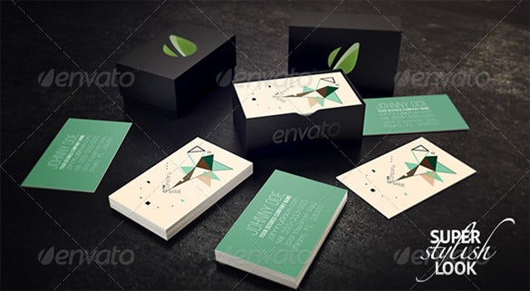 9 business card box templates amp design files free