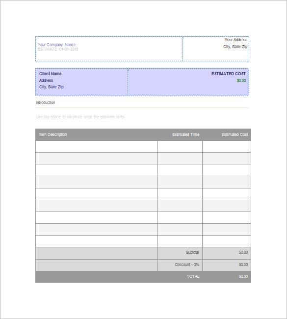 free job proposal templates | trattorialeondoro