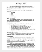 Book-Report-Outline-Template