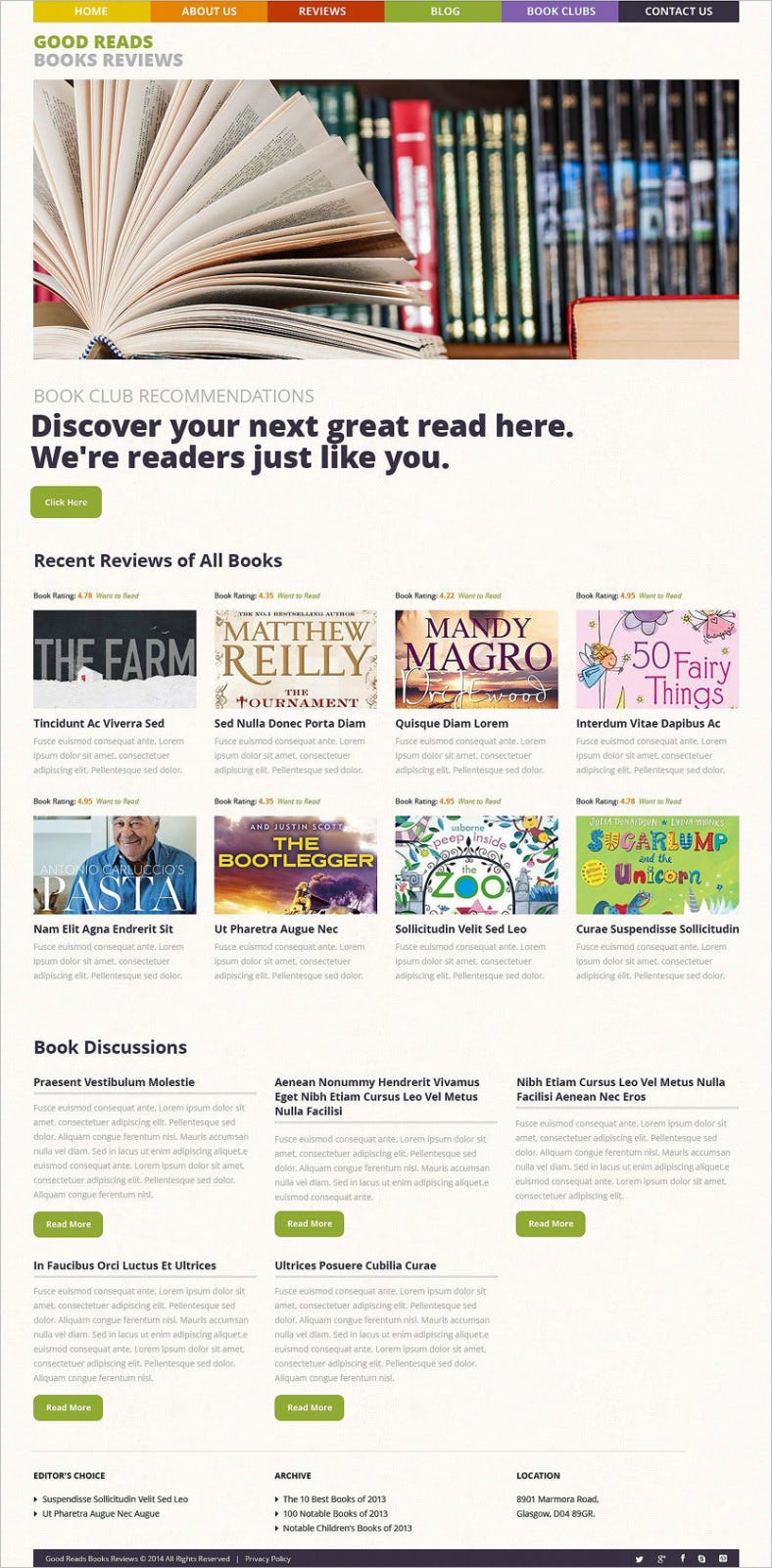 books reviews wordpress theme 788x1601