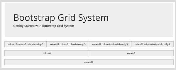 Bootstrap-Grid-System