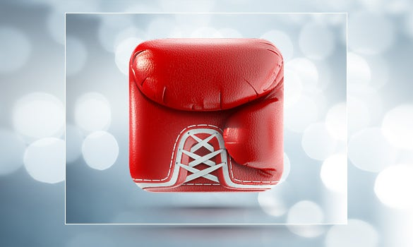 boxing glove iphone